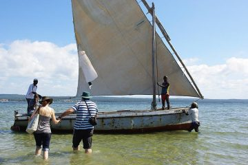 Dhow trip in Inhambane